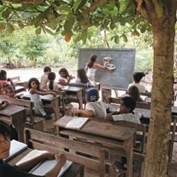 Você colocaria seu filho para estudar embaixo de uma árvore? | Banco de Aulas | Scoop.it