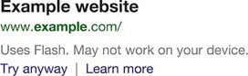 Google Now Warns In Search Results when a Page Won't Load | MarketingHits | Scoop.it