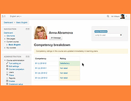 Moodle Intros Full Support for Competency-Based Ed -- Campus Technology | Blackboard Tips, Tricks and Guides for Higher Education | Scoop.it