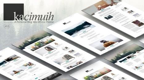 KaciMuih - Personal Blog WordPress Theme | wp theme | Scoop.it