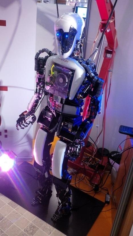 [Innorobo 2014] Aria, le robot humanoïde d'accueil   Sociotech Digest   Scoop.it