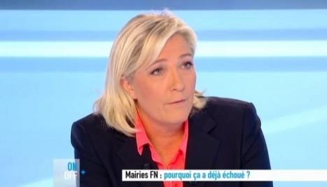 Face à Marine Le Pen, dans Dimanche+, Anne-Sophie Lapix donne une leçon de journalisme | Les médias face à leur destin | Scoop.it