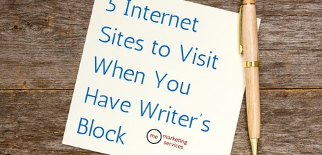 5 Internet Sites to Visit When You Have Writer's Block | E-Learning Suggestions, Ideas, and Tips | Scoop.it