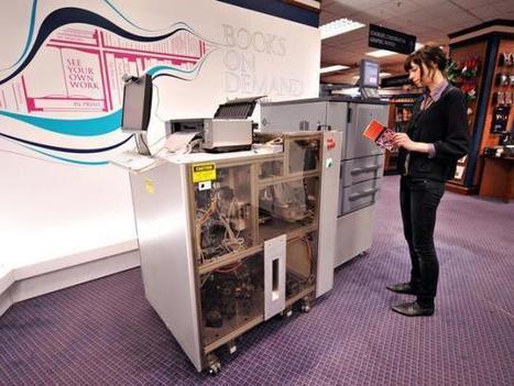 Une machine pour imprimer des livres à la carte | Coopération, libre et innovation sociale ouverte | Scoop.it