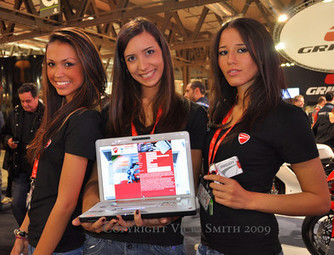 Look back: 2009 Milan Motorcycle Show Photo Gallery | Ductalk Ducati News | Scoop.it