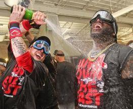 MLB playoffs 2013: Red Sox clinch AL East championship - SportingNews.com | Red Sox | Scoop.it