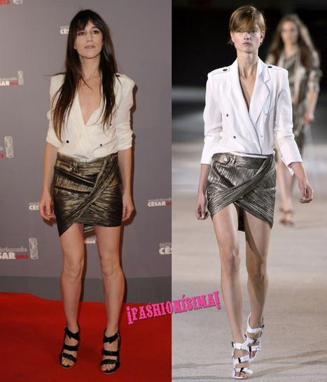 Charlotte Gainsbourg también se encuentra un sustituto para Balenciaga | DShopping | Agrega tu blog de moda | DShopping | Scoop.it