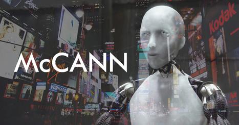 McCANN embauche le 1er robot directeur de création | Citizen Com | Scoop.it