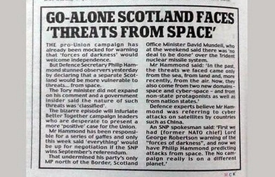 Keep watching the skies | Scottish Independence | Scoop.it