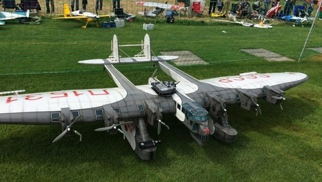 GIANT RC Plane With Seven Motors! - Speed Society | Wandering Salsero | Scoop.it