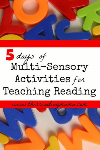 Multi-Sensory Activities for Teaching Reading | Cool School Ideas | Scoop.it