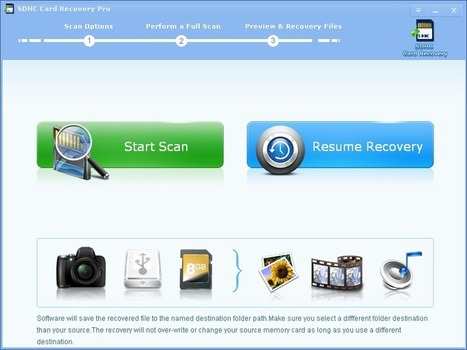 Professional SDHC Card Recovery Software - LionSea™ Software | SD Card Data Recovery Software | Scoop.it