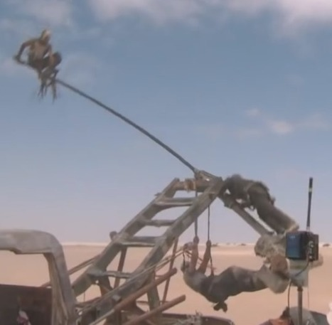 Eighteen minutes of raw footage from the set of Mad Max: Fury Road | Books, Photo, Video and Film | Scoop.it