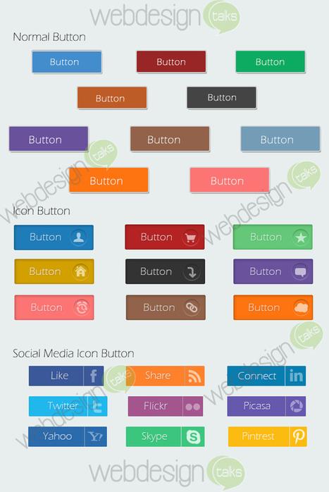 Free Photoshop Buttons Giveaway - Web Design Talks | Web Design | Scoop.it