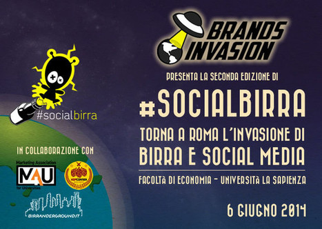 #Socialbirra 2: nuova invasione di birra e social media a Roma! « Brands Invasion | #Socialbirra: evento su Social Media e Birra Artigianale | Scoop.it