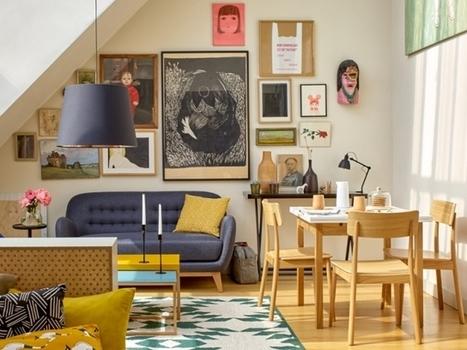 Décoration intérieure : osez l'accumulation de tableaux ! | Merveill'home | Scoop.it