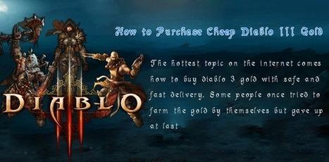 Buy Diablo 3 gold, cheap d3 gold 24/7 online service - d3moon.com | MMORPG | Scoop.it