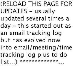 Tony's Email/Meeting Log | Resource Library | Scoop.it