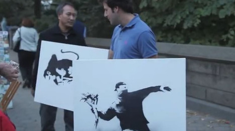 Chicago man unwittingly buys $127,752 worth of authentic Banksy works from street vendor | Daily Crew | Scoop.it