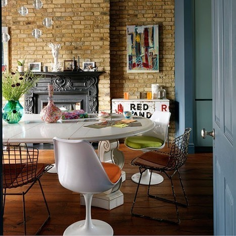 Cozy Industrial Home in London - Decoholic   Raw and Real Interior Design   Scoop.it