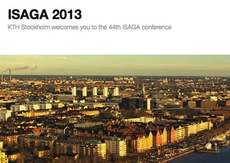 ISAGA 2013 | KTH Stockholm welcomes you to the 44th ISAGA conference | (R)e-Learning | Scoop.it