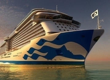 Princess Cruises unveils details of new Chinese ship | English speaking media | Scoop.it