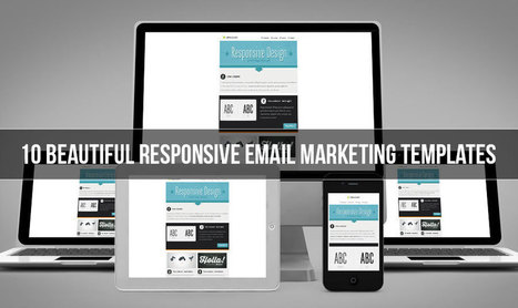 10 Beautiful Responsive Email Newsletter Templates | Design Tips & Tricks | Scoop.it