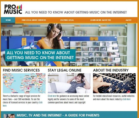 Pro Music : All You Need To Know About Getting Legal Music On The Internet | Källkritik och informationskompetens | Scoop.it