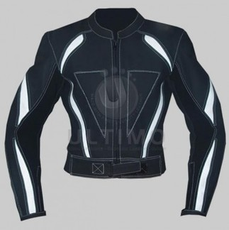 Black White Biker Jacket   You like leather jackets since nobody ignored it   Scoop.it