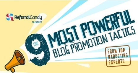 9 Power-Packed Ways to Promote Your Content | Writing for the web & content marketing | Scoop.it