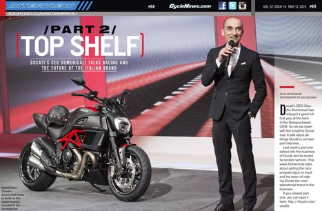 Top Shelf Part 2 - Cycle News | Ductalk Ducati News | Scoop.it