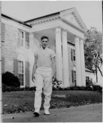 Elvis' 'Graceland' Deal: 55 Years Ago for $1,000Down | Antiques & Vintage Collectibles | Scoop.it