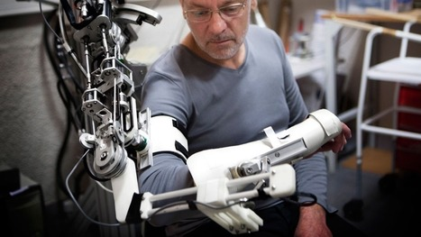 'Bionic spinal cord' aims to move robotic limbs with power of thought | Future and Singularity | Scoop.it