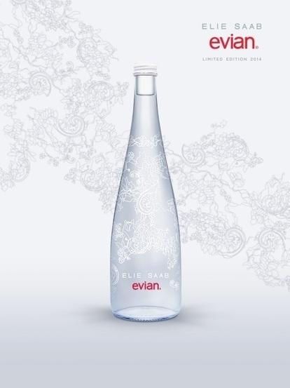 Elie Saab X Evian | egeries de marques de luxe | Scoop.it
