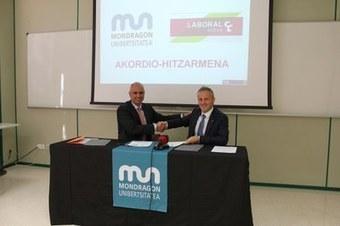 MUko Telekomunikazioak » Blog Archive » MU y Laboral Kutxa firman un acuerdo para facilitar la financiación de los estudios | Laboral Kutxa en la red | Scoop.it