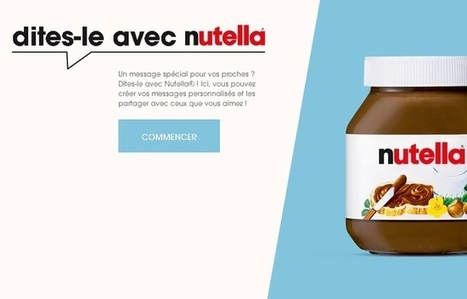 Le raté de Nutella dans son opération de marketing viral - 20minutes.fr | Communication narrative & Storytelling | Scoop.it