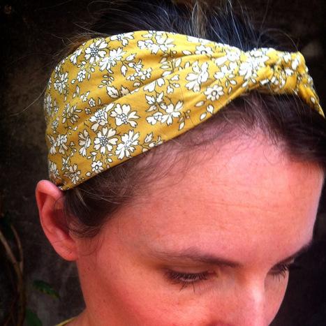 Tuto nouer un foulard en bandeau | Presse et Blog | Scoop.it