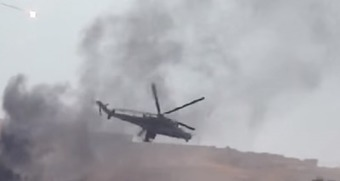 GETTING HOT: Russian Copter Downed by Syrian Fighters (Video) | Saif al Islam | Scoop.it