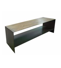 Dadra | Mesas de centro hierro forjado y madera a medida | MESA DE CENTRO LLANÇA CHAPADA EN ROBLE | Mesa de centro  hierro y madera | Scoop.it