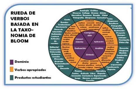 Verbos a utilizar en cada tipo de objetivo en la taxonomía de Bloom #infografia #educacion | Las TIC en Ciencias de la Salud | Scoop.it