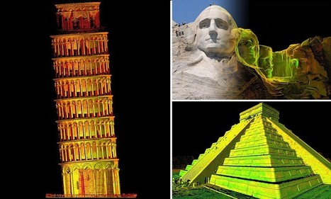 Historic repeating itself: Famous landmarks - from Pompeii to Mount Rushmore ... - Daily Mail | viajar | Scoop.it