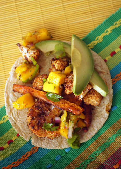 Here's the rub: Chipotle Cauliflower Tacos | Vegetarianism | Scoop.it