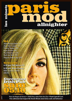 Paris Mod Allnighter – Part II | CXLondon.Com | Scoop.it