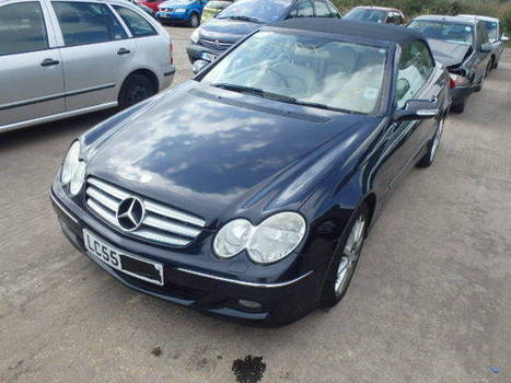 Salvage 2005 blue Mercedes Benz Clk200 K E with VIN WDB2094422T on auction   cars   Scoop.it