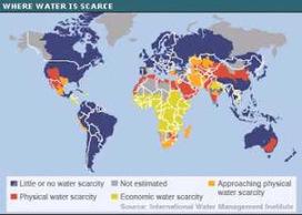 El agua: mapa de agua en el planeta   Novedades de Internet   Scoop.it