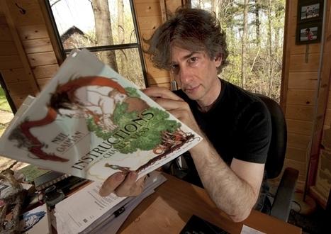 On Fairy Tales, Comfort Books, Raising Readers, & More: Reading Rainbow Interviews Neil Gaiman! - Reading Rainbow | Writing | Scoop.it