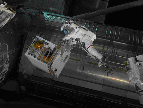 NASA - Robotic Refueling Module, Soon To Be Relocated to Permanent Space Station Position | Planets, Stars, rockets and Space | Scoop.it