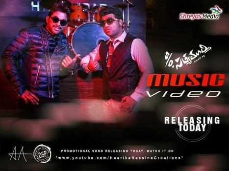 Tollyscreen: s/o satyamurthy promotional song | allu arjun | Devi sri prasad | Trivikram | Tollyscreen | Scoop.it
