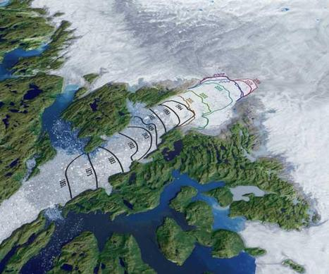 Shrinking Greenland Glacier Smashes Speed Record   No Such Thing As The News   Scoop.it