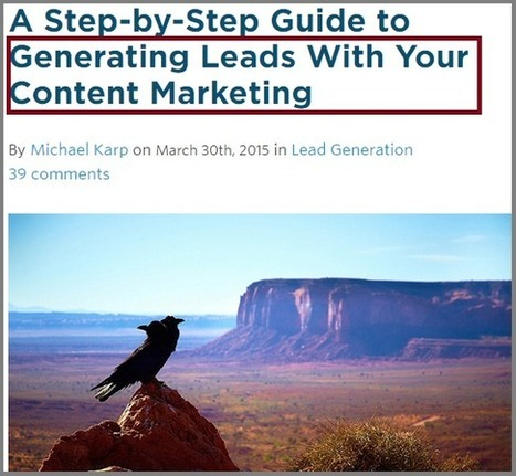 How to Generate Viral Content That Yields Leads Automatically | digital marketing strategy | Scoop.it